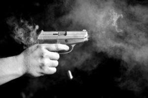 Schwermetalle Schusswaffe